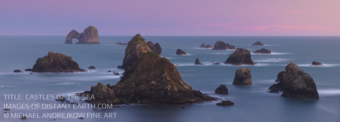 Luxury home decor fine art photography long exposure seascape ocean sea stack Michael Andrejkow
