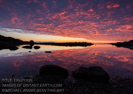 Vancouver Island Fine Art sunrise coast ocean sea Michael Andrejkow