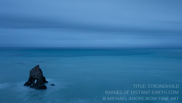 California Fine Art Photography long exposure seascape sea stack ocean