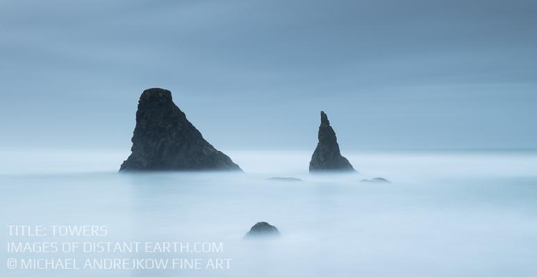 Oregon Fine Art Photography Long Exposure ocean coast sea stack Michael Andrejkow