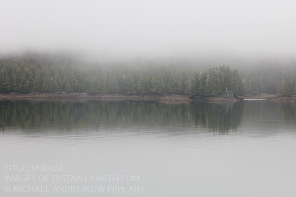Great Bear Rainforest Fog BC Fine Art Michael Andrejkow