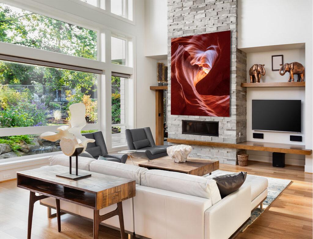 Antelope Canyon Fine Art Photography Prints for sale Home Decor Interior Design Slot Canyon Page Arizona Michael Andrejkow