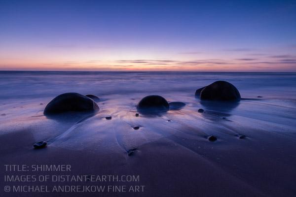 Calfornia Fine Art artwork coast ocean seascape beach dusk Michael Andrejkow