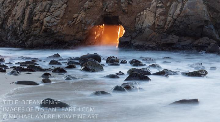 California Fine Art Luxury home decor artwork ocean sea beach sun ray long exposure Michael Andrejkow