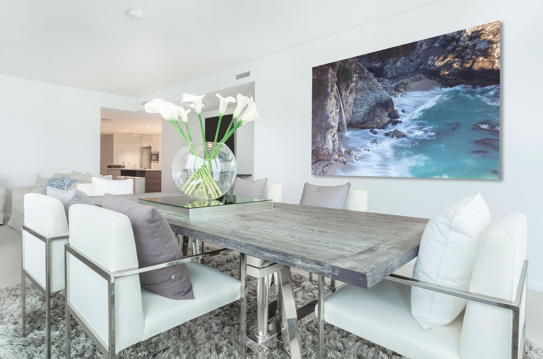 California Fine Art Photography Coast Waterfall Luxury Home Decor Paradise Michael Andrejkow