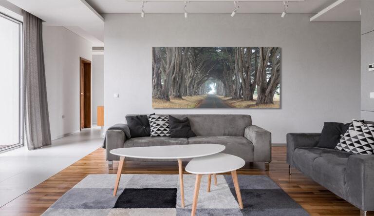 Cypress Tree Fine Art Home Decor Collection Interior Design California Luxury artwork Michael Andrejkow