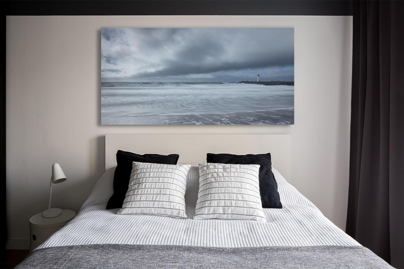 Fine Art Photograpphy home decor artwork California coast seascape ocean beach waves surf lighthouse Michael Andrejkow