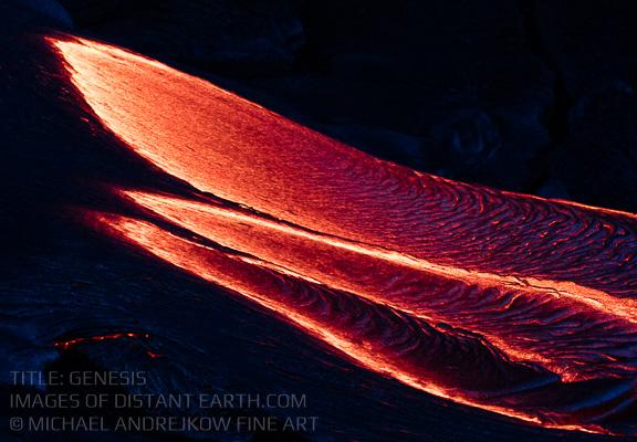 Hawaii Fine Art Photography Prints for sale Volcano Lava Flow Artwork Luxury Home Decor Michael Andrejkow