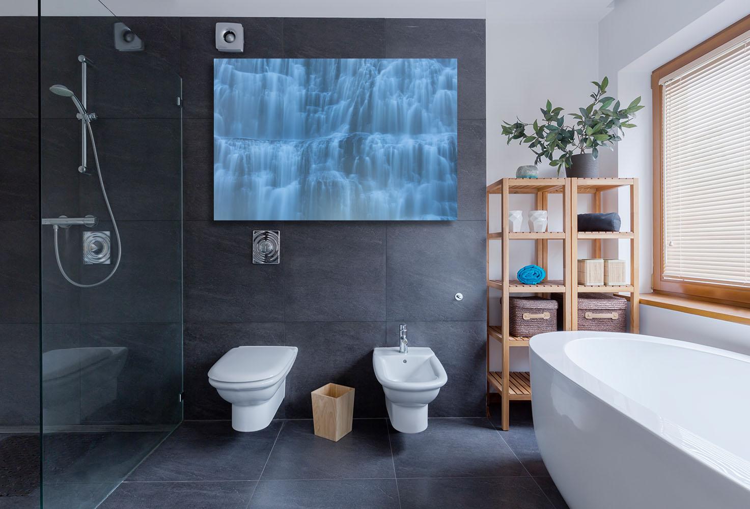 Iceland Fine Art Photography Waterfall Pure Luxury Home Decor Artwork Michael Andrejkow