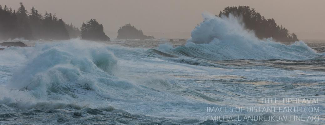 Vancouver Island Fine Art artwork ocean seascape waves surf coast swell Michael Andrejkow