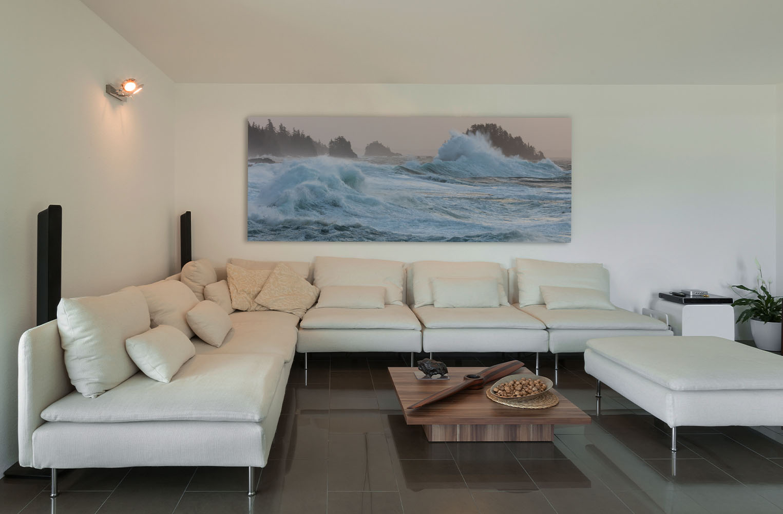 Vancouver Island Fine Art artwork ocean seascape waves surf luxury home decor Michael Andrejkow