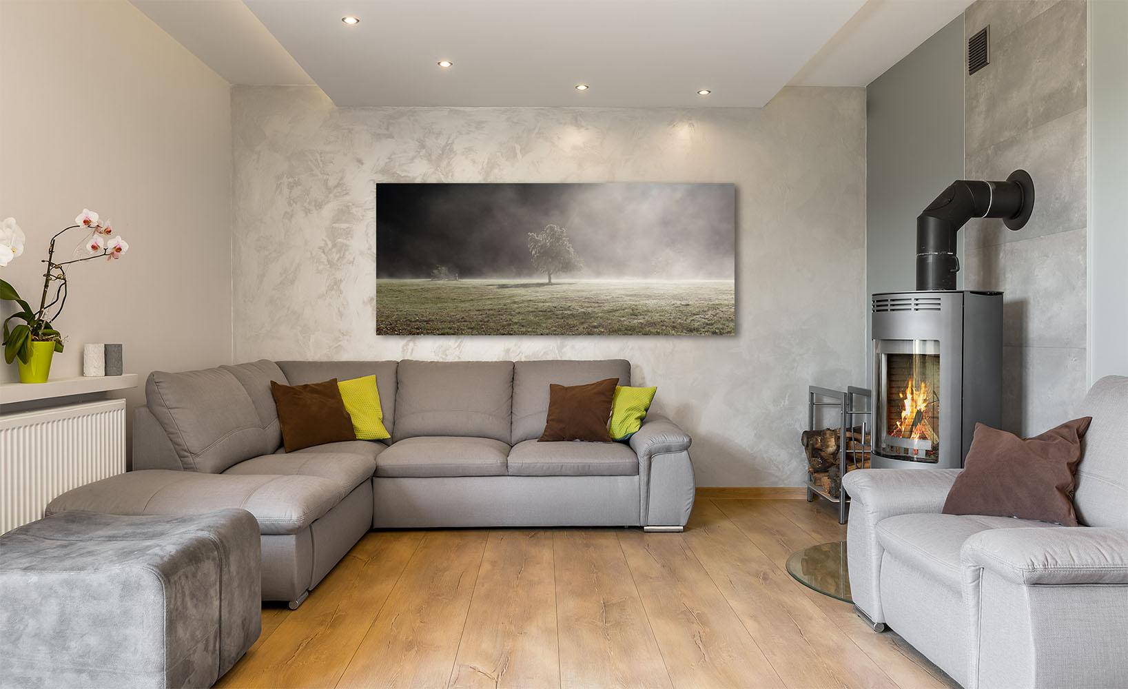 Washington Fine Art Tree Rainforest Mist Fog Luxury home decor interior design Michael Andrejkow