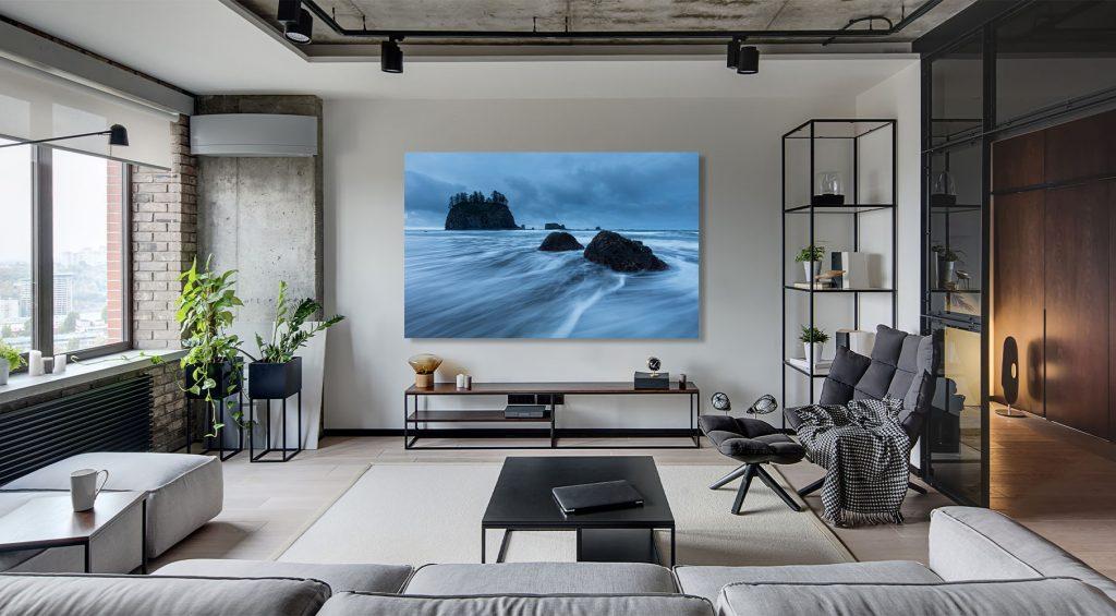 Washington Fine Art for sale luxury home decor ocean sea stack waves surf beach coast Michael Andrejkow