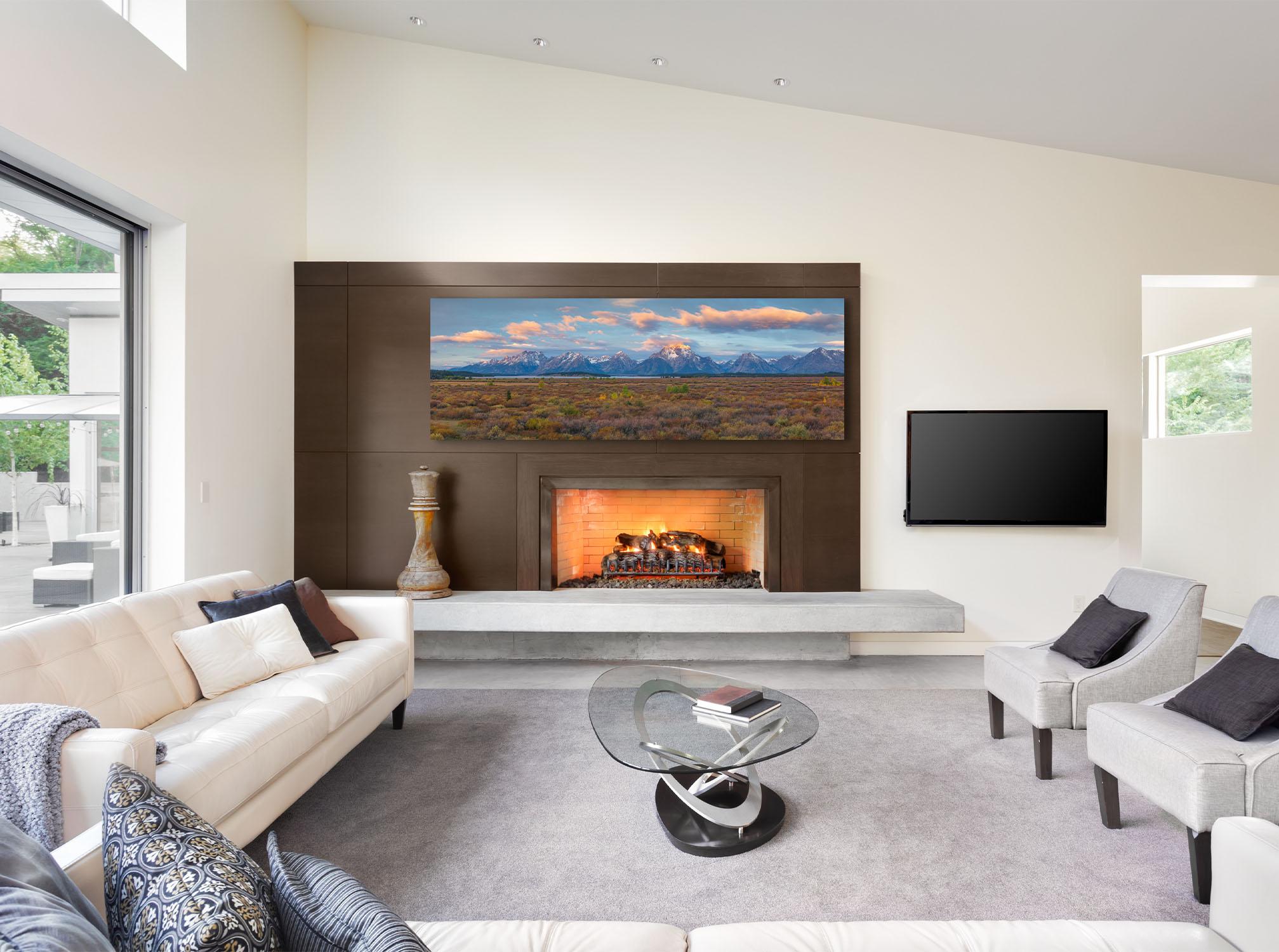 Spirit of the West Wyoming Teton Mountain Fine Art Print Luxury Artwork Home Decor Michael Andrejkow