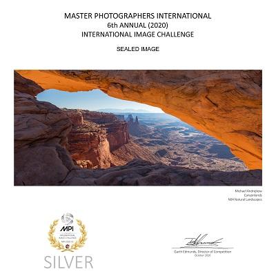 Mesa Arch Fine Art Print Moab Utah Luxury Fine Art Arch Artwork Michael Andrejkow
