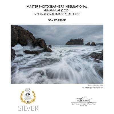 Washington Fine Art seascape ocean beach waves surf Luxury home decor Michael Andrejkow